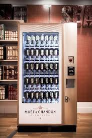 Champagne Vending Machine Enchanting Champagne Vending Machines Business Ideas Pinterest Moet