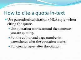 writing using lead ins quotes and lead outs in paragraphs and  how to cite a quote in text