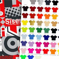 Siser Color Chart Siser Color Chart