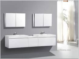 bathroom large white wooden vanity twin rectangular sink plus mirror grey wall cool designs modern bath simple designer bathroom vanity cabinets