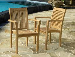 view the full image grenada teak stacking chairs