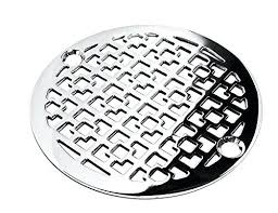 designer drains chrome geometric number 1 round decorative shower drain cover grate square uk