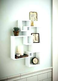 wall hanging bookcase wall mounted display shelves for your home of intended prepare