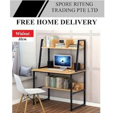 home office study furniture. Study Table - With Multi-Shelves Home Office Furniture
