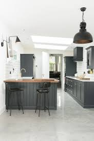 Polished Concrete Floor Kitchen Kitchen Of The Week A Shaker Inspired Kitchen In East Dulwich
