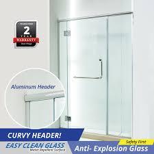 reh300 frameless shower screen