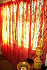 orange curtains blackout canada velvet ikea and grey the range
