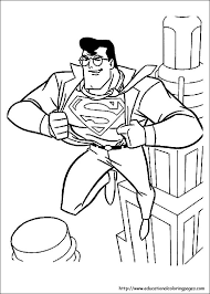 Small Picture Superman Coloring Pages free For Kids