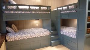 Corner bunk beds kids traditional with built ins l-shaped bunk beds More