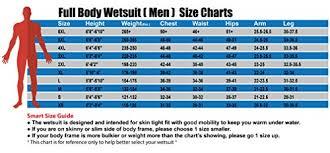 Seavenger Wetsuit Size Chart Seavenger 3mm Full Suit Flatlock Stitching Jumpsuit With Super Stretch Armpit Men Women Wetsuits Womens Size 5