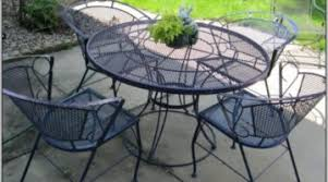 black wrought iron patio furniture. Black Wrought Iron Mesh Patio Furniture \u2013 Patios : Home Design Throughout R