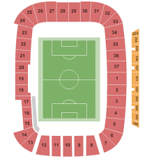 Lindquist Field Seating Chart Rio Tinto Stadium Seating Chart Salt Lake City