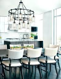 best kitchen table chandelier small eat in low hanging crystal shade style cabinets modern