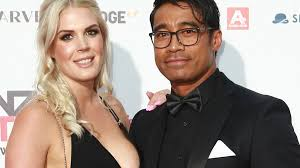 pua magasiva with his wife lizz sadler in 2017 photo norrie montgomery