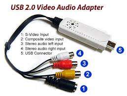similiar usb to rca input output adapters keywords usb 2 0 and backward compatible usb 1 0 audio video inputs
