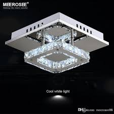 square led crystal chandelier light for aisle porch hallway stairs wth led light bulb 12 watt 100 guarantee antler chandeliers bathroom chandelier from