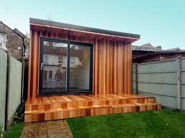 garden office with storage. A Garden Office Can Have A Secret Storage Area With