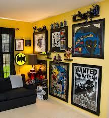 Batman Room Design Amazing Kids Bedroom With Batman Decorations Ideas Batman