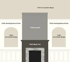 dovetail paint color our great room fireplace wall paint colors by accessible beige dovetail