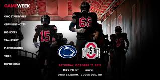 Ohio State To Debut Black Uniforms Against Penn State