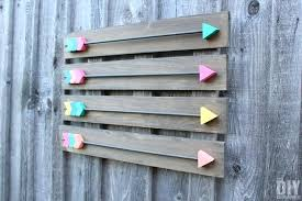 diy wood wall decor make your own arrow wall decor fabulous wood arrows art diy wood