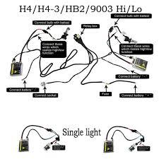 ac hid kit bi xenon h4 h13 9004 9007 9008 12v 35w ac hid kit bi xenon h4 h13 9004 9007 9008 12v