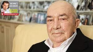 Türk sinemasının duayeni ve 'Bay Sineması' Türker İnanoğlu 83 yaşında.