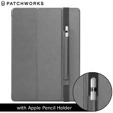57438.jpg Patchworks PureCover iPad Pro Case with Apple Pencil Holder - Grey