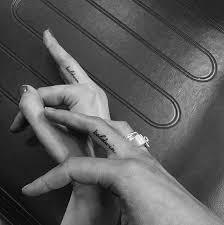 звездные мини татуировки которые мы обожаем