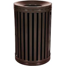 commercial indoor trash cans garbage modern receptacle with locking lids outdoor and