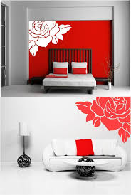 Small Picture LARGE ROSE FLOWER VINYL WALL ART STICKERS Custom DesignsCustom