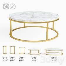 3d models table restoration hardware