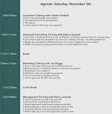 Training Agenda How To Format A Training Agenda With 12 Examples Samples
