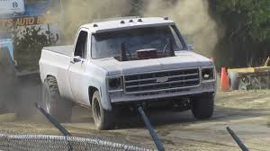 1977 Chevy Scottsdale C10 Truck Pull 2wd Super Stock - YouTube