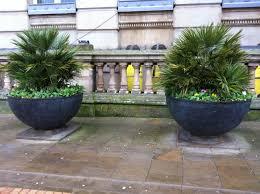 big outdoor flower pots designs