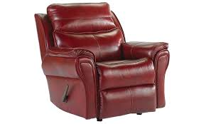 Southern Motion Top Grain Leather Rocker Recliner