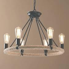 chandelier edison bulbs industrial bare bulbs chandelier in rust intended for edison chandelier gallery