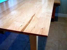 shaker inspired maple table by grant kistler
