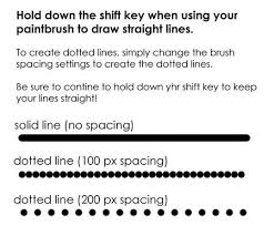 This is the sort of thing i am looking for if i use the line tool to draw a dashed line with an arrowhead, i end up with something like this: Drawing Straight And Dotted Lines Dotted Line Photoshop Tutorial Dots