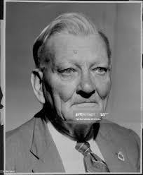 "Mr. Albert Bates, Sydney's ""Grand Old Man of Australian Rules.""... News  Photo - Getty Images"