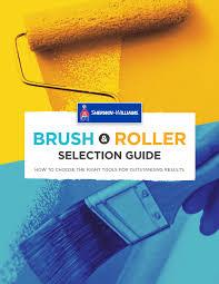 Sherwin Williams Brush Roller Guide By Sherwin Williams