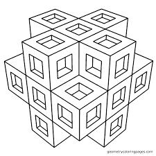 Printable Geometric Coloring Pages Geometric Coloring Pages