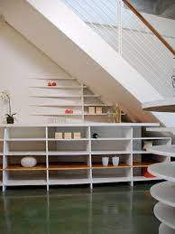 10 Smart Design Ideas For Small Spaces Understairs Storage Small Spaces Stair Shelves