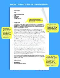 How To Write A Letter Of Intent For Graduate School Business Sample ...