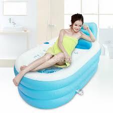 53 portable pvc inflatable bathtub with air pump