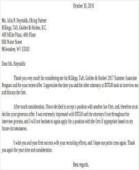 Reject Counter fer Letter
