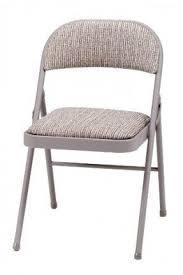 deluxe padded steel fabric folding chair brown amazon co uk kitchen home