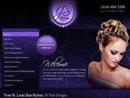 Hair Saloon Websites Salon Website Design Hair Salon Hair Stylist Beauty Salon Spa