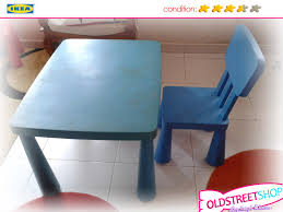 oldstreet ikea mammut children table and chair