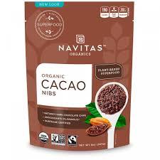 <b>Органические</b> кусочки <b>какао</b>-бобов, Navitas Organics, 227 <b>г</b> купить ...